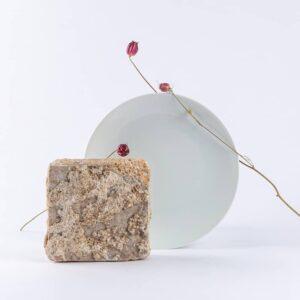 assiette ronde en porcelaine blanche de limoges. 25cm