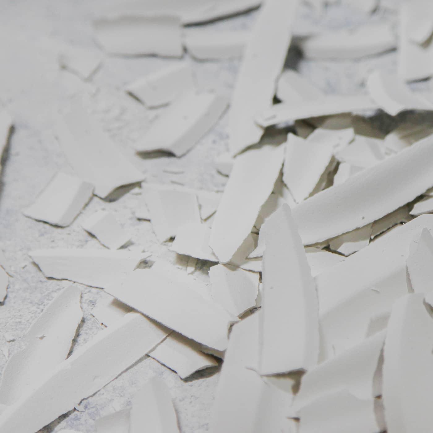 Dépot de pâte à porcelaine à recycler