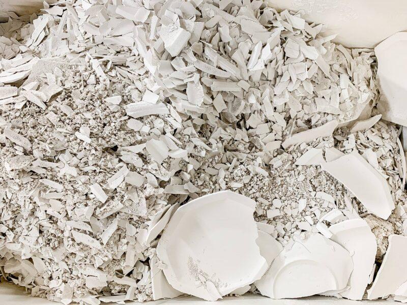 recyclage-porcelaine-pour -les-assiettes-éco-responsables et durable